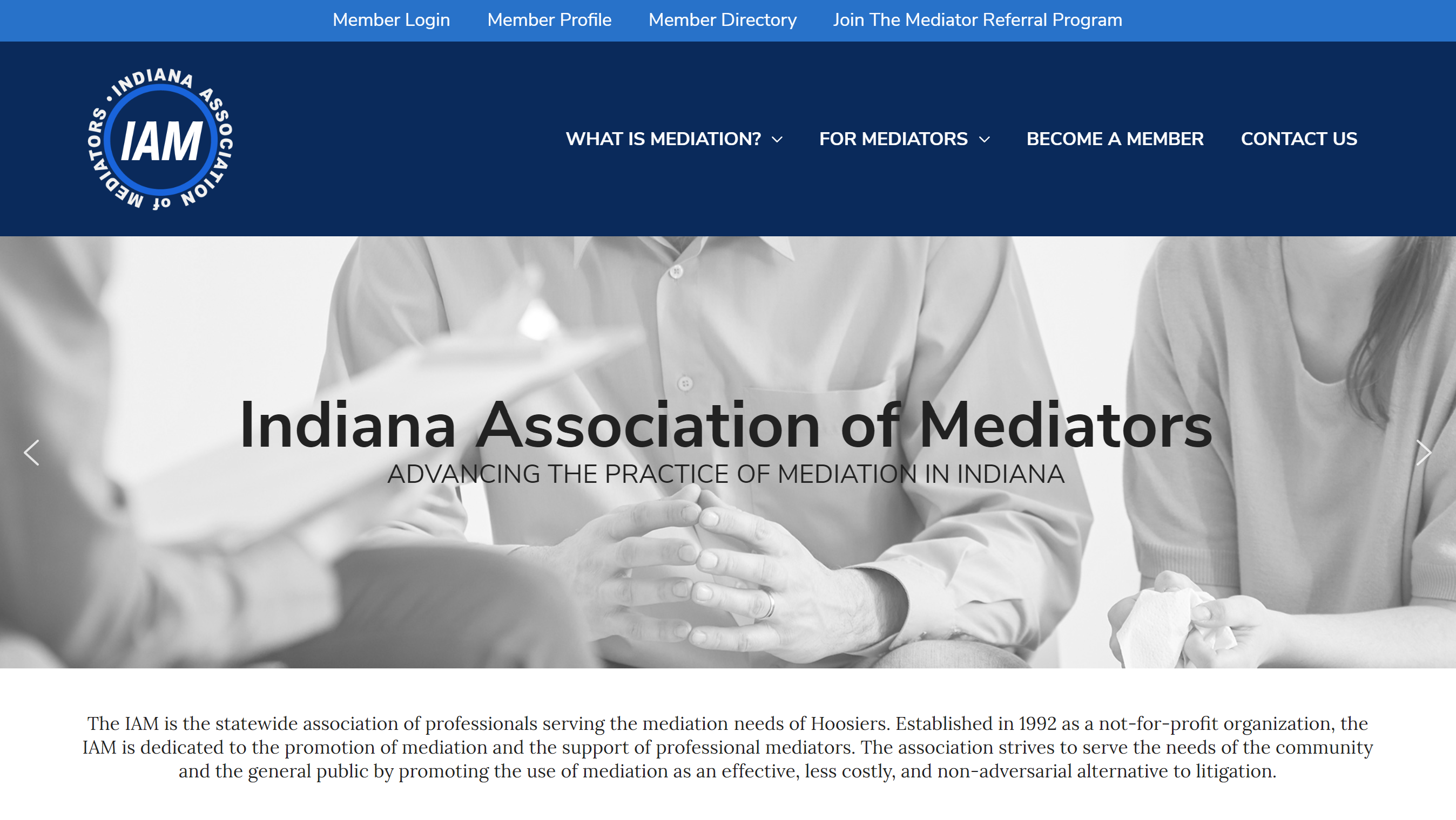 Divorce Mediation Website Design